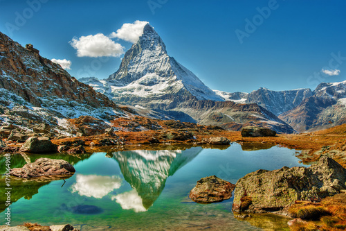 Matterhorn, Switzerland Canvas Print