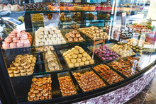 Variety Of Sweets And Desserts...