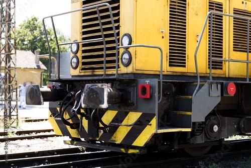 Zdjęcie XXL lokomotywa pociągu