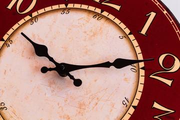 Vintage clock make feeling wait for long time