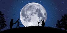 Lune - Clair De Lune - Astrono...