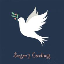 Christmas Dove