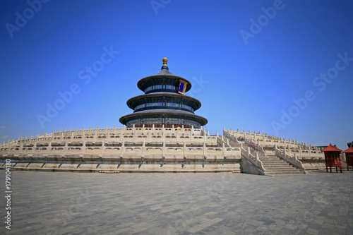 Photo  The temple of heaven in Beijing, China