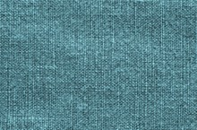 Texture Of Rough Fabric Turquoise Color