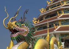 Wat Huai Pla Kung Near Chiang Rai Thailand