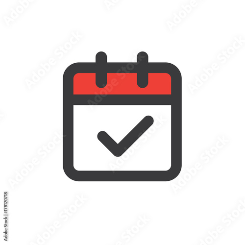 Photo Time management and Schedule icon for upcoming event