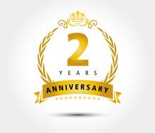 2 Years Anniversary Royal