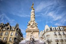 The Place Drouet-d'Erlon. Reims