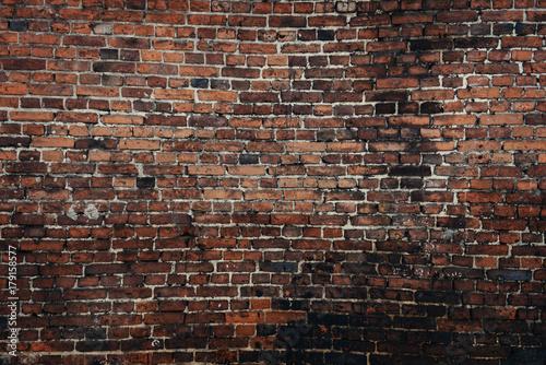 Poster Brick wall Old brick wall