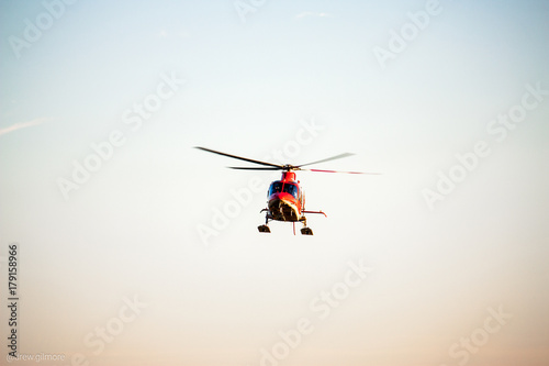 Staande foto Helicopter Flight For Life Helicopter Utah
