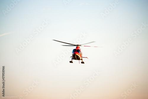 Staande foto Flight For Life Helicopter Utah