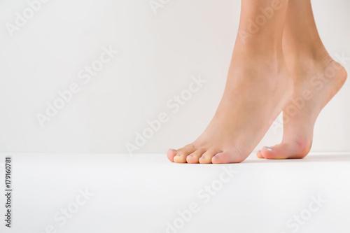 Barefoot Canvas Print