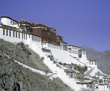 The Potala Palace, Former Residence Of The Dalai Lama In Lhasa, Tibet, Asia