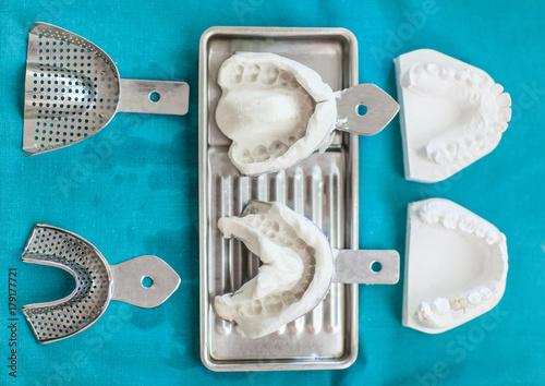 Dental mold for making dentures   Купить эту готовую фотографию и