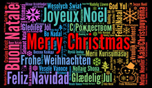 Merry Christmas In Different L...