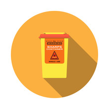 Vector Isolated Icon Of Sharps...