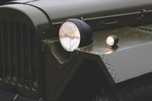 Vintage Soviet Jeep