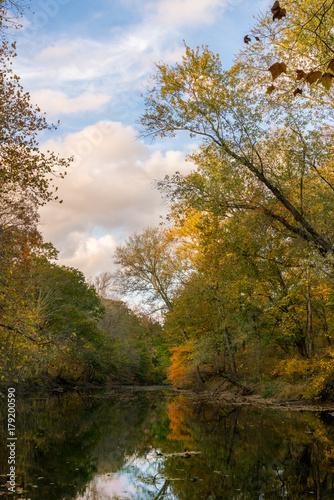 Ramapo River In Autumn #179200590