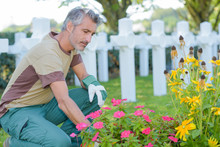 Cleaning The Burial Ground