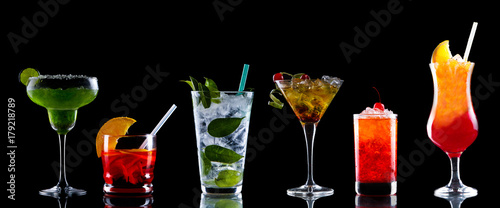 Food Styling cocktail Canvas Print