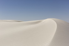 Foot Prints At White Sands, Ne...