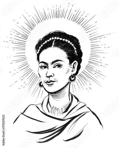 Frida Kahlo Wall mural