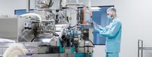 Scientist Fix Machine With Sha...