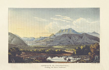 Old Landscape. Sonderend River, Along The Road To Genadendal, South Africa. By Cocking And Bluck After Latrobe, Publ. On Journal Of A Visit To South Africa, In 1815, And 1816, London 1818