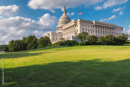 Fototapeta Washington DC, The United States Capitol on Capitol Hill is the home of the United States Congress and located in Washington D.C. obraz