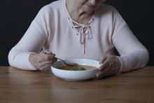 Elderly Person With Appetite D...