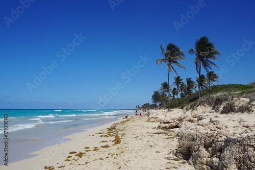Strand In Playa Santa Maria Playa Del Este Havanna Auf Kuba