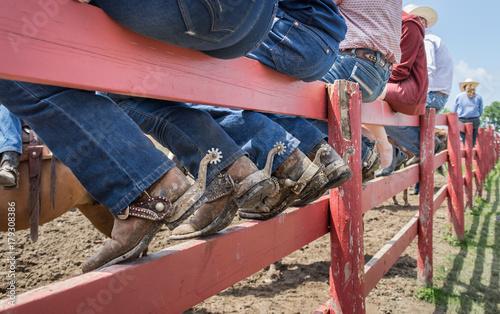 Fotomural  Cowboys at Rodeo