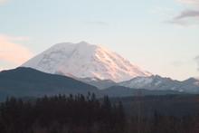 Mt Rainier Sunset