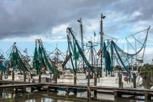 Shrimp Trawlers, Harkers Islan...