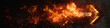 canvas print picture - Flame Arrow