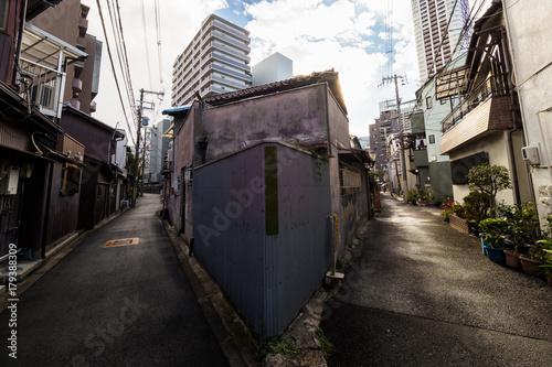 Photo  中崎町の路地裏