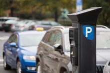 Parking Machine With Solar Pan...