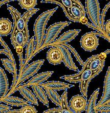 Sequins Seamless Pattern