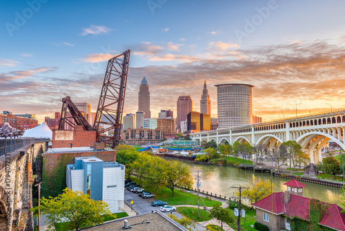 Fotografie, Obraz  Cleveland, Ohio, USA