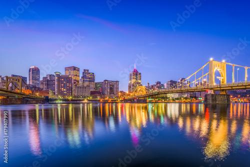 Photo Stands Pittsburgh, Pennsylvania, USA