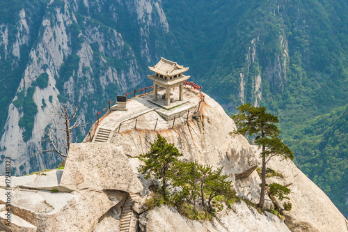 Plakat Chiny, Góra Huashan