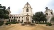 Afternoon cloudy view of The beautiful Pasadena City Hall at Los Angeles, California, United States