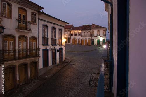 Amanhecer em Ouro Preto, Brazil Poster