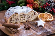 Weihnachtlicher Butterstollen ...