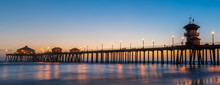 The Huntington Beach Pier In H...