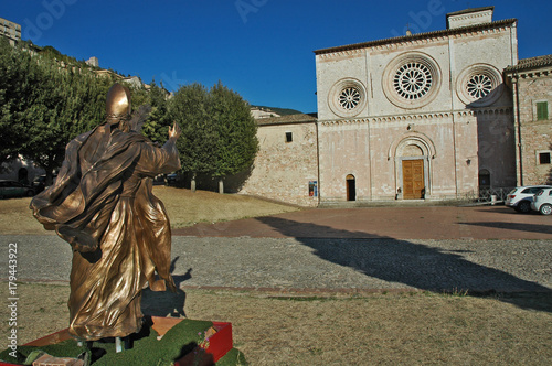 Obraz na plátně La chiesa di San Pietro di Assisi - Umbria