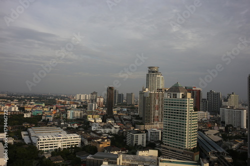 Fototapety, obrazy: シティービルディング、摩天楼