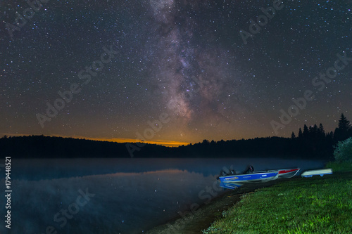 Photo Astrophotography in Algonquin Provincial Park