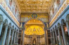 Indoor Sight Of The Basilica O...