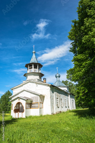 Papiers peints Edifice religieux The Russian Orthodox Church in the village Kagirovo, Kostroma oblast.